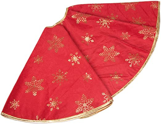 red and gold tree skirt-3