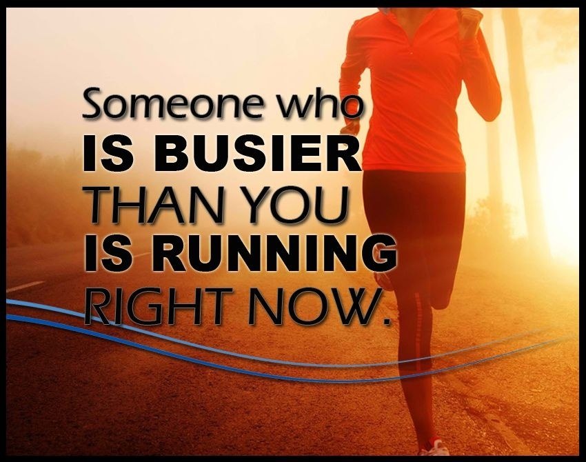 someone who is busier than you is running-2