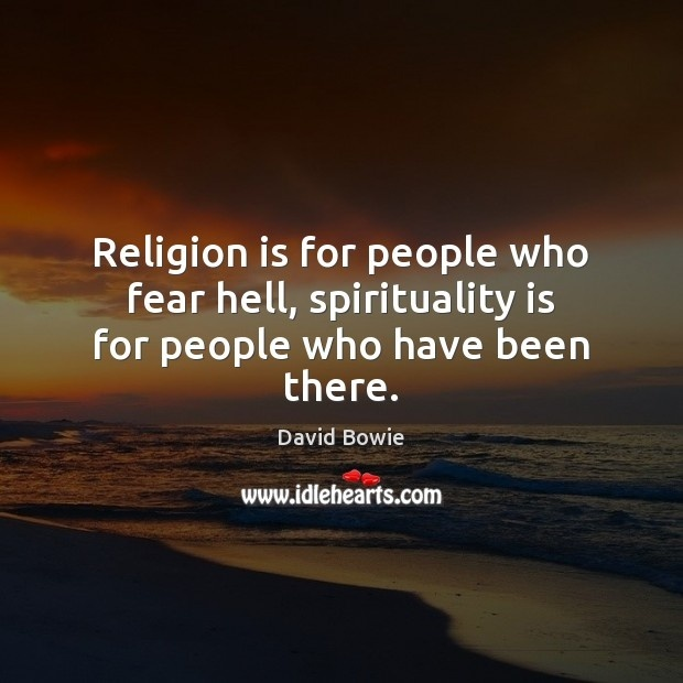 spirituality is for those who have been there-1