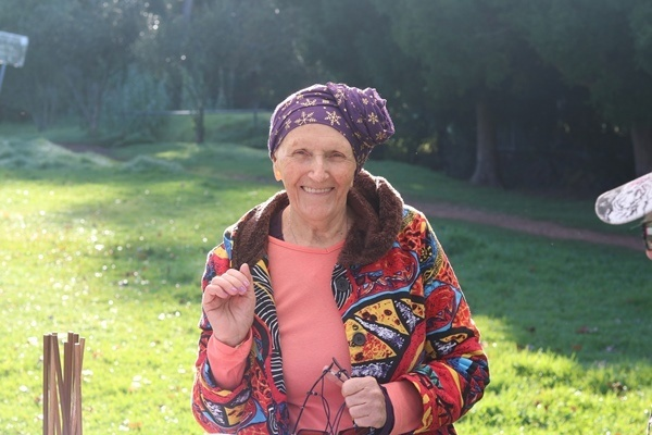 sylvia is a middle aged woman who volunteers-2