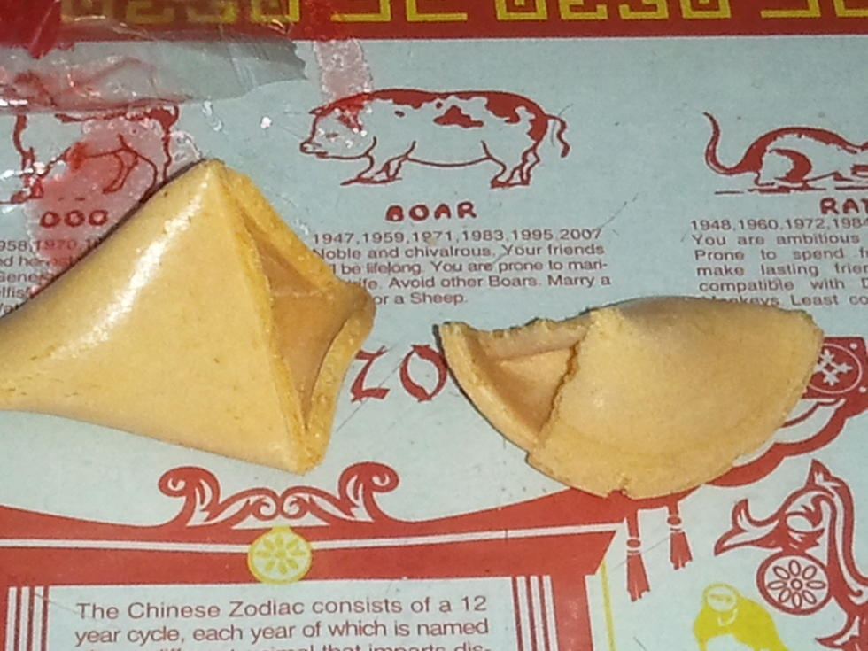 what does it mean when your fortune cookie is empty-0