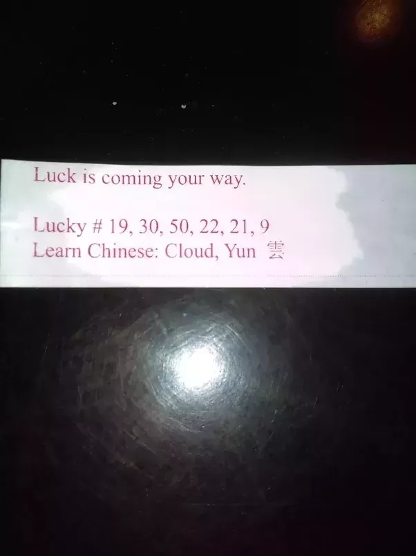 what does it mean when your fortune cookie is empty-3