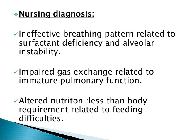 what is an appropriate nursing intervention for a neonate with respiratory distress syndrome (rds)?-4