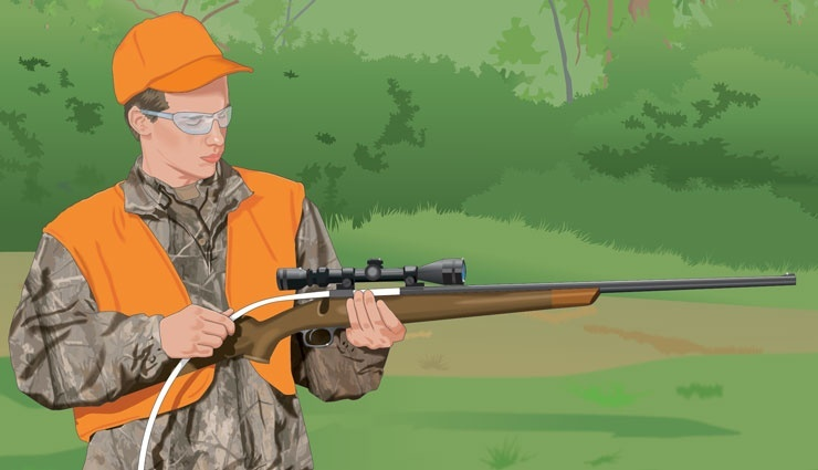 what is an important benefit for hunters who properly clean and maintain their firearms?-2