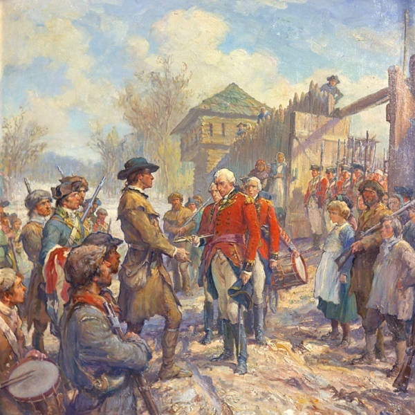 what is one effect of the battles fought on the western frontier during the american revolution?-0