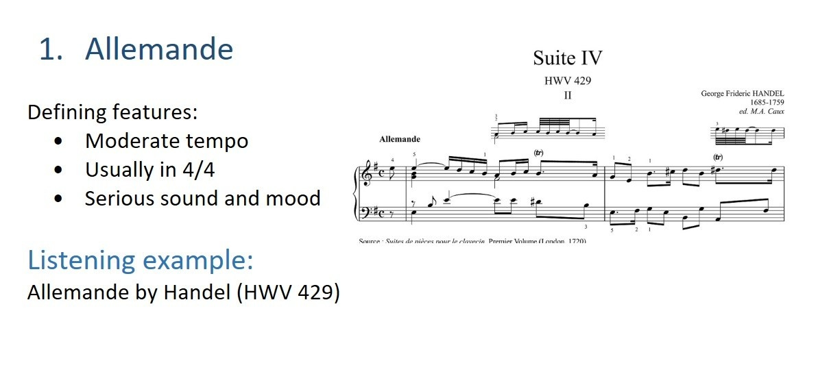 what is sometimes found at the beginning of a baroque suite?-1