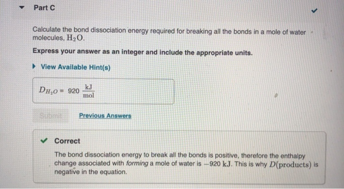 what is the bond dissociation energy for breaking all the bonds in a mole of o2 molecules?-3