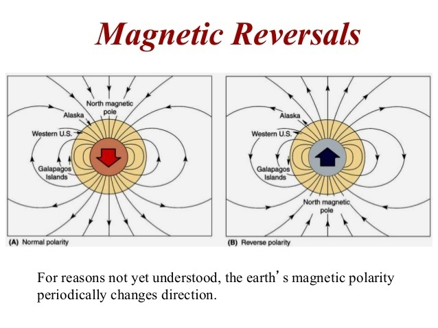 what is the importance of magnetic reversals to the theory of plate tectonics?-2