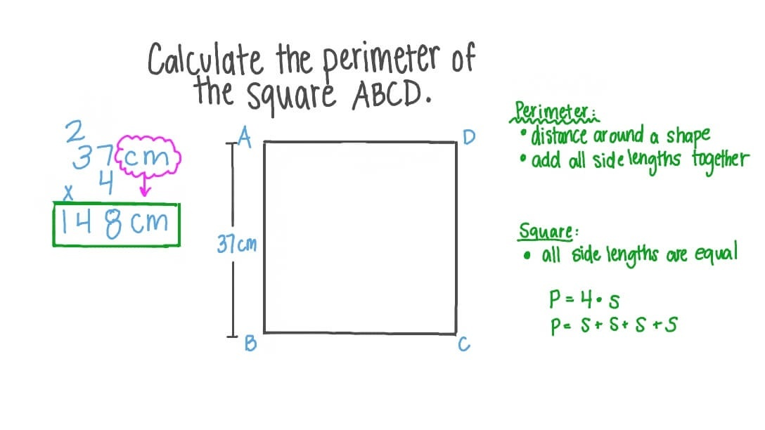 what is the perimeter of square abcd? units units 28 units 37 units-3