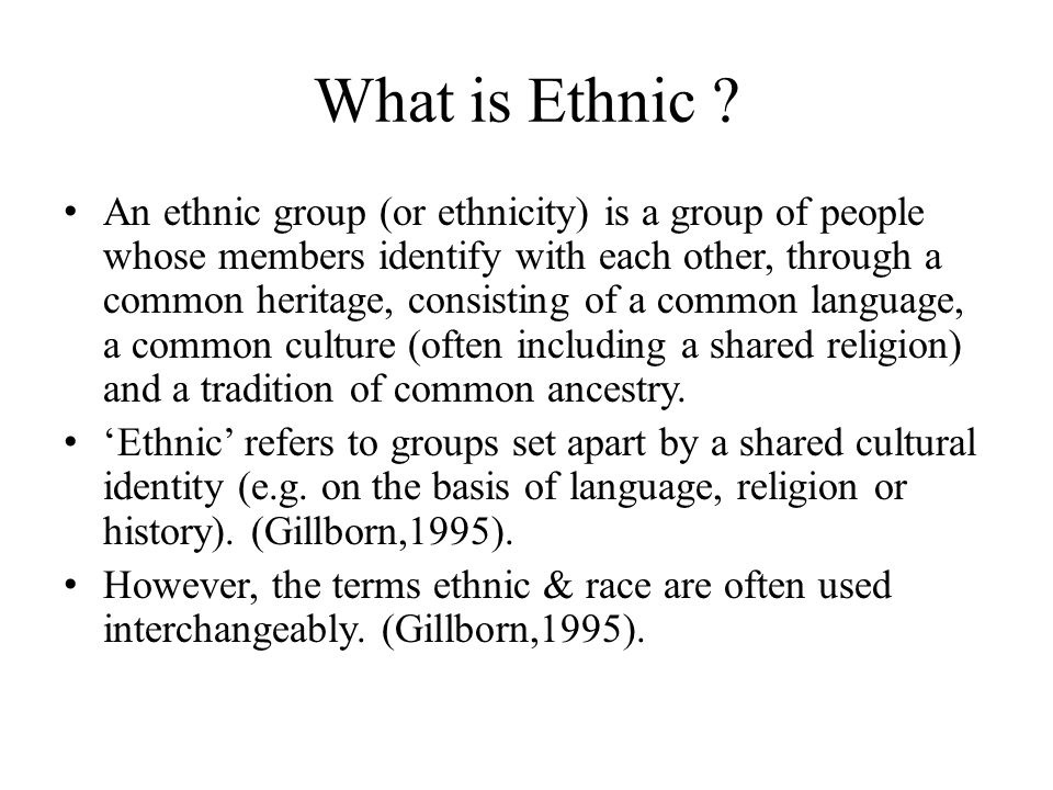 what is the term for a group of people who share a common language, culture, or history?-1