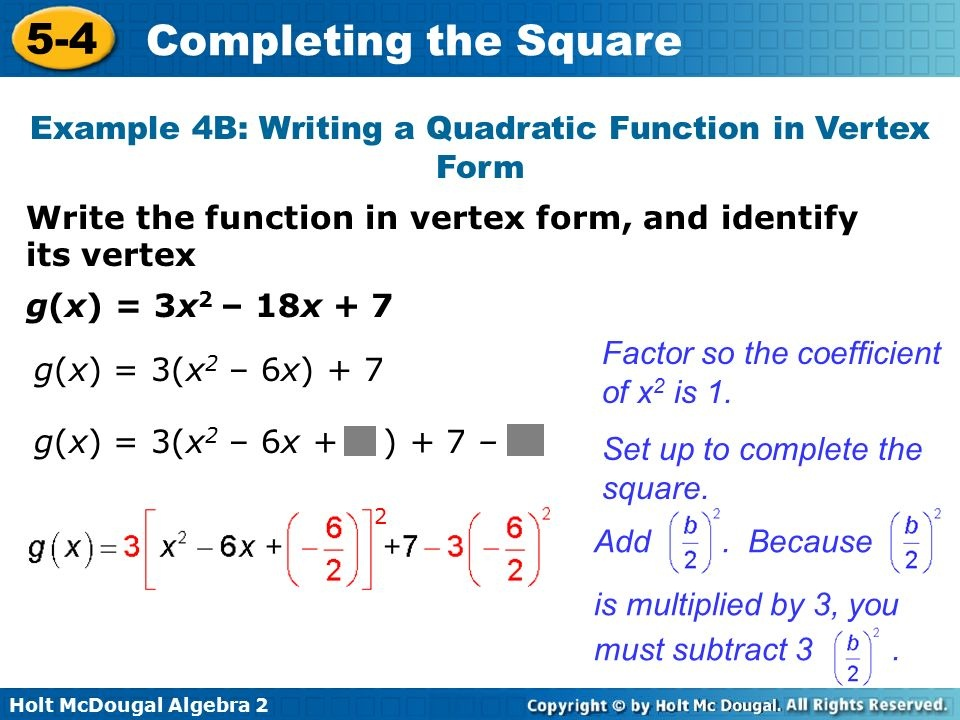 what is the vertex of g(x) = –3x2 + 18x + 2?-0