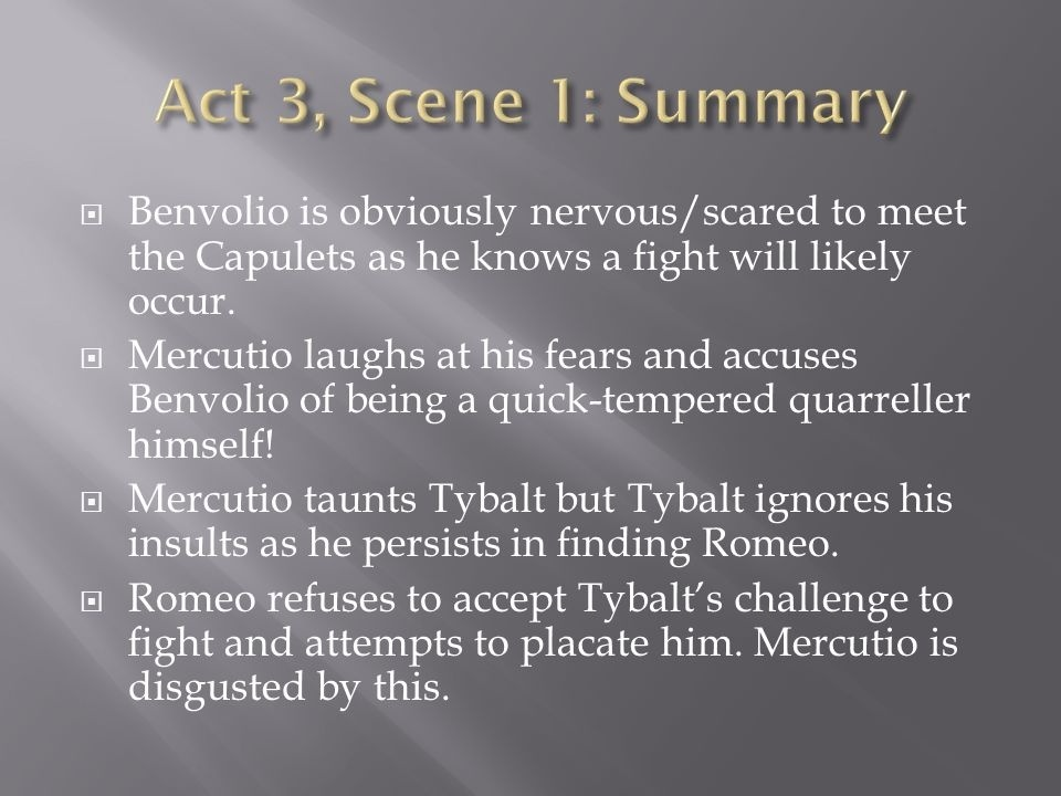 who is benvolio and what does he attempt to do-2
