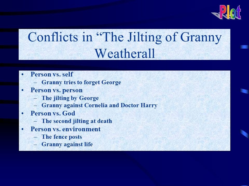 who is hapsy in the jilting of granny weatherall-0
