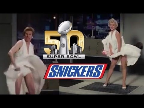 who is in the marilyn monroe snickers commercial-3