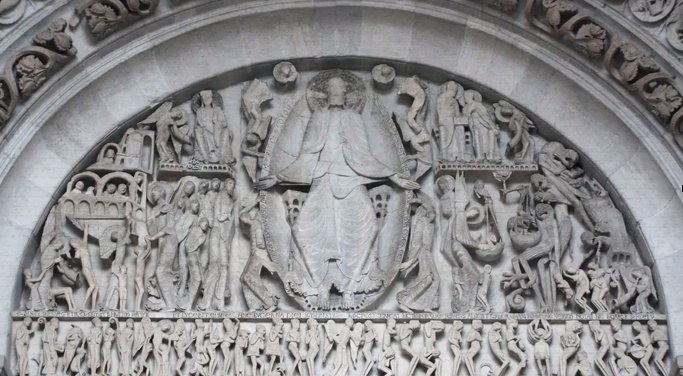 who is the artist of the last judgment tympanum from the cathedral of saint-lazare?-0