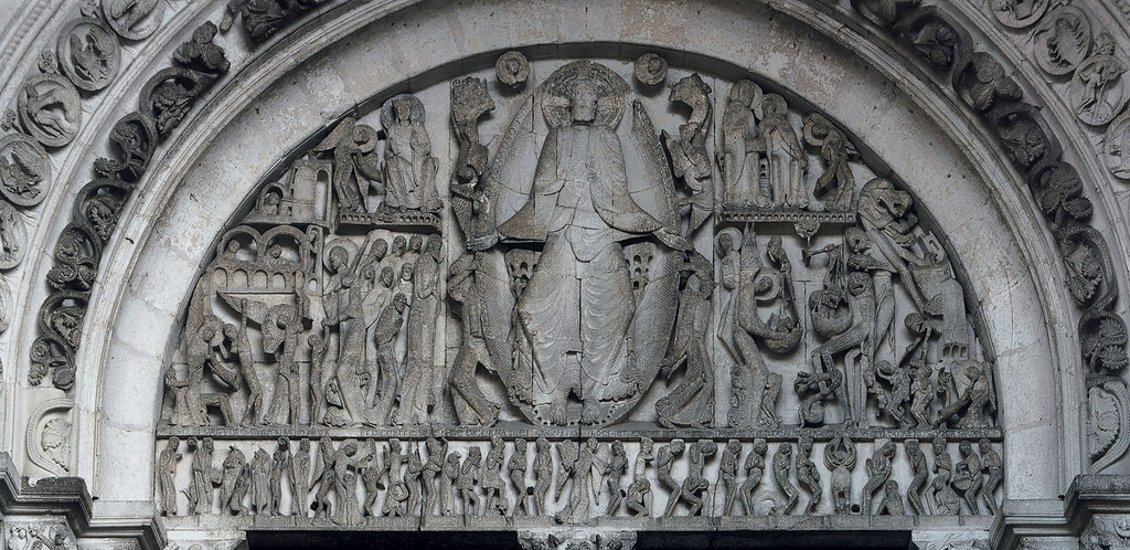 who is the artist of the last judgment tympanum from the cathedral of saint-lazare?-1
