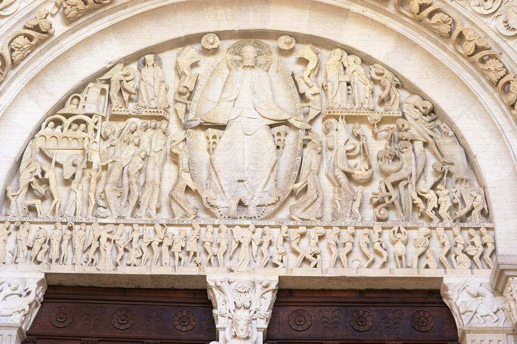 who is the artist of the last judgment tympanum from the cathedral of saint-lazare?-3