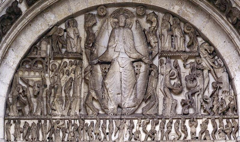 who is the artist of the last judgment tympanum from the cathedral of saint-lazare?-4