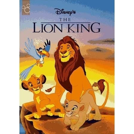 who is the author of the lion king book-2