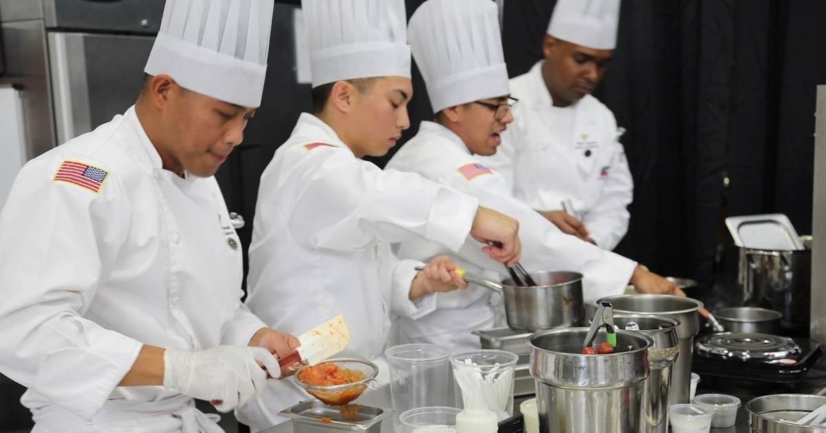 who is the highest ranking member of the culinary team-1