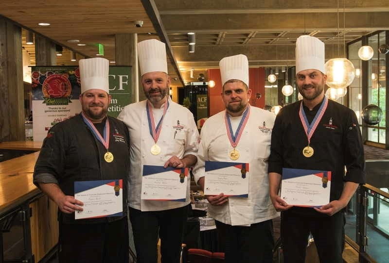 who is the highest ranking member of the culinary team-4