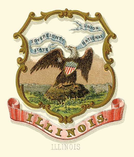 who is the keeper of the great seal of illinois-1