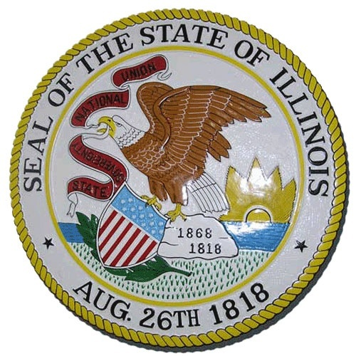 who is the keeper of the great seal of illinois-2