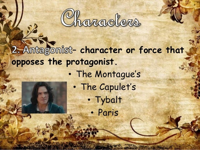 who is the protagonist in romeo and juliet-1