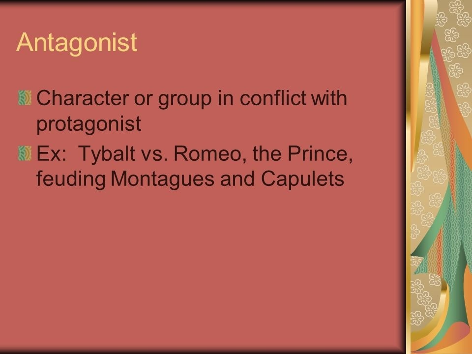 who is the protagonist in romeo and juliet-3