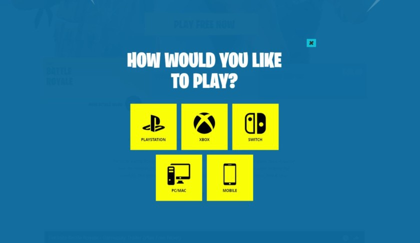 how to play fortnite ps4 and pc-9
