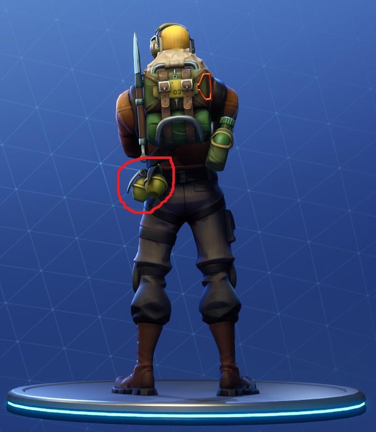 what was the first skin in fortnite-2
