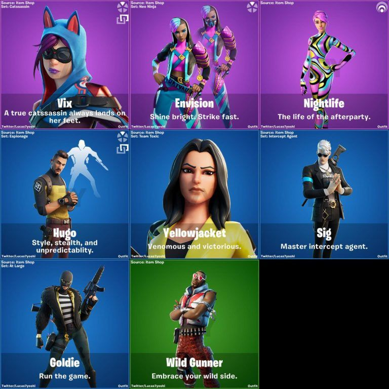 what was the first skin in fortnite-3