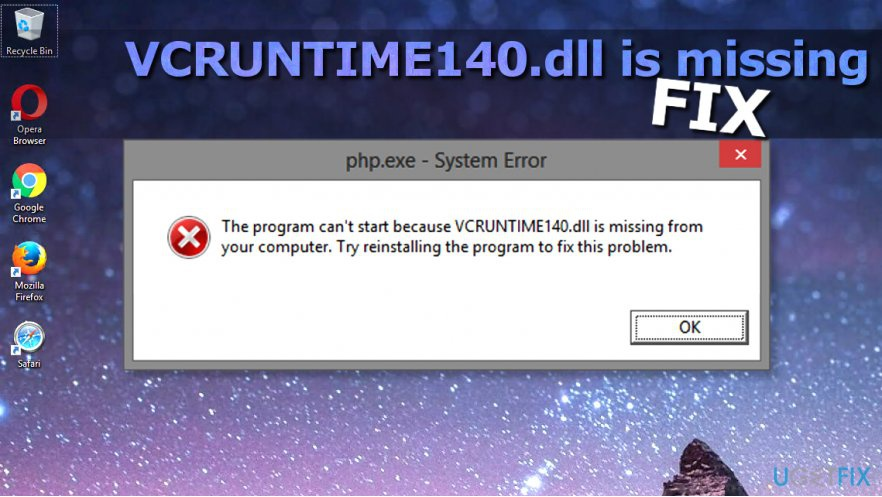 the code execution cannot proceed because vcruntime140.dll was not found-1