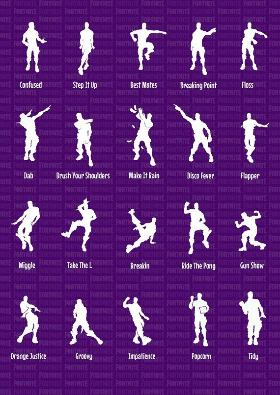 list of fortnite dances-6