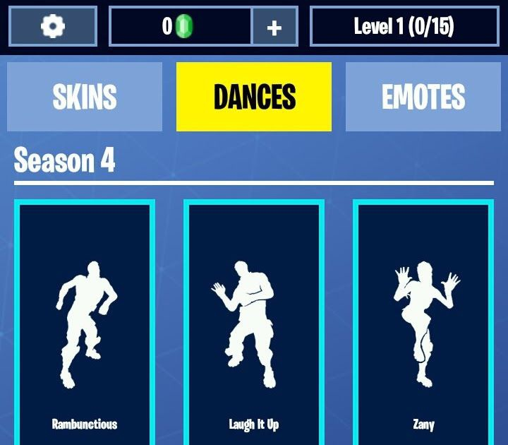 list of fortnite dances-8