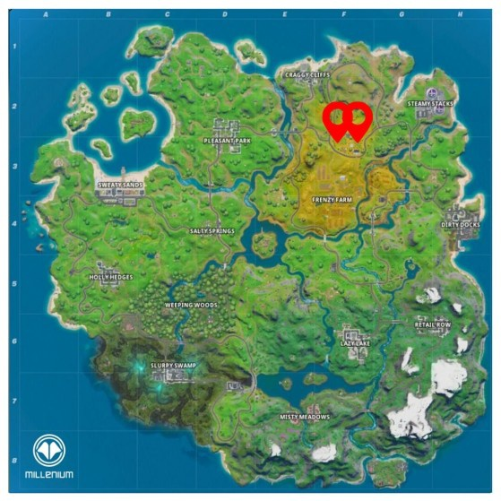 where are apples in fortnite-0