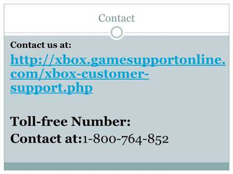 xbox customer service 1-800 number-1