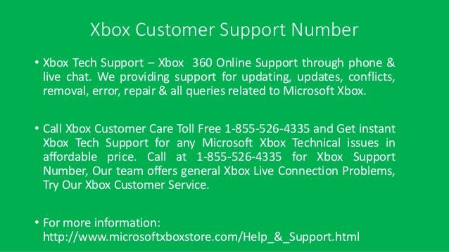xbox customer service 1-800 number-2