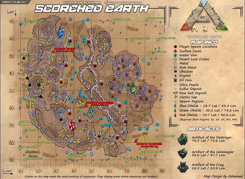 ark map scorched earth-0