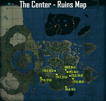 ark the center dino locations-9