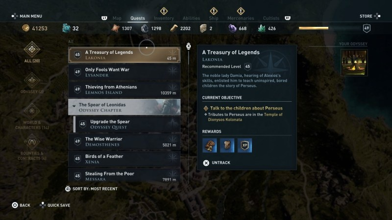 assassin's creed odyssey a treasury of legends-2