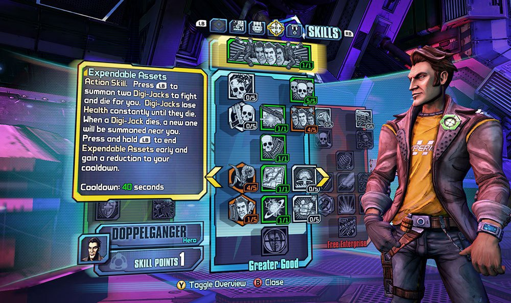 borderlands pre sequel max level-1
