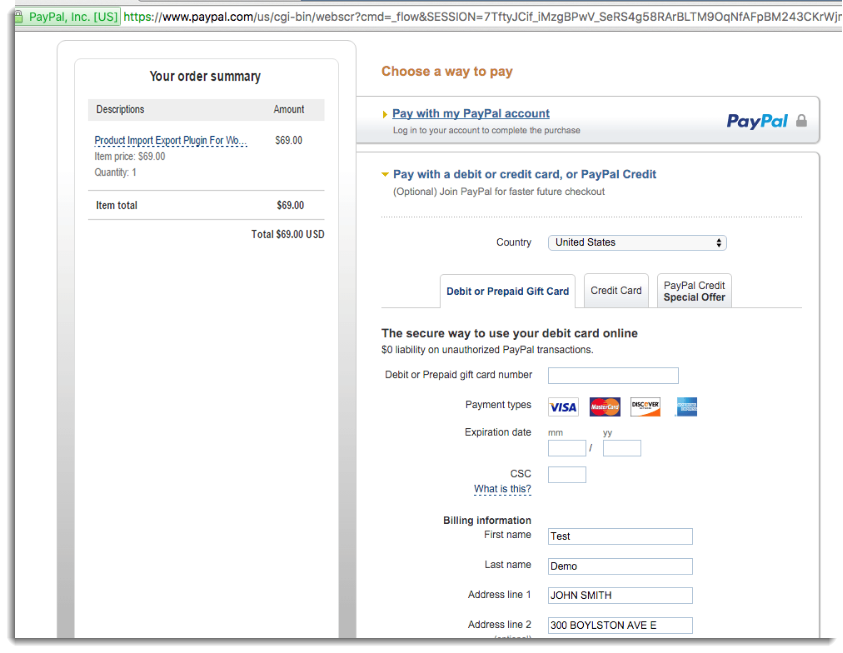 can you use paypal without a card-6