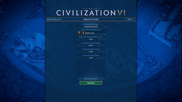 civilization 6 game speed-0