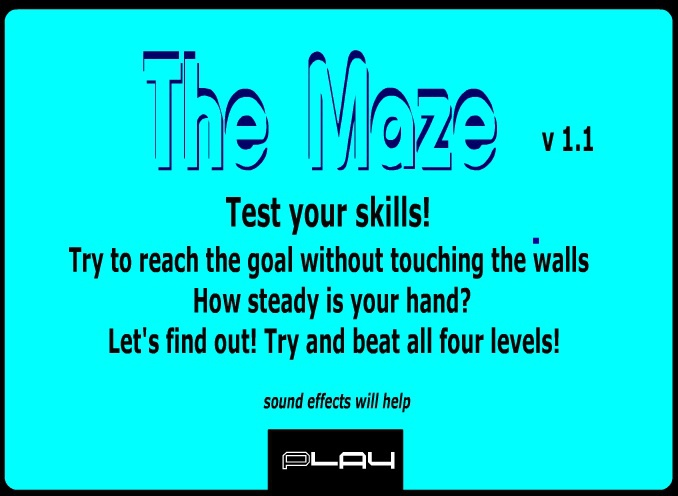 scary game maze 1-4