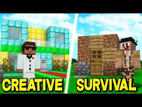 minecraft survival and creative-5