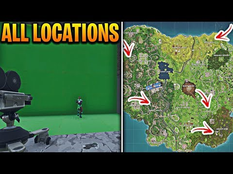where are all the cameras in fortnite-7