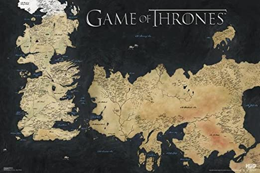game of thrones map-2