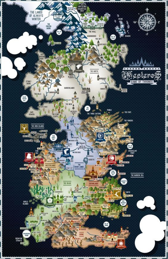 game of thrones map-3