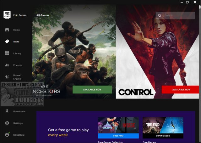 epic games store launcher-8
